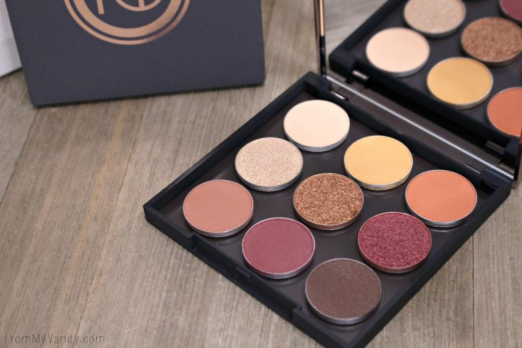 Makeup Geek Autumn Glow bundle and palette are perfect!