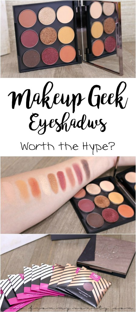 Makeup Geek get's SO MUCH buzz on social media. Here's just a regular girl's opinion on this super popular social media brand. Featuring the Autumn Glow bundle!