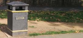 ¿Por qué hay tan pocas papeleras en Londres?