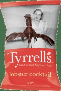 Lobster cocktail crisps