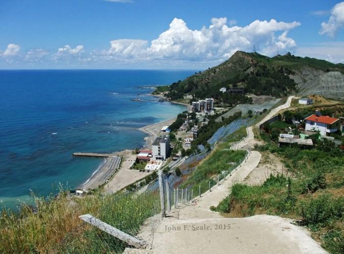 Durrës Albania - The Durrës coastline
