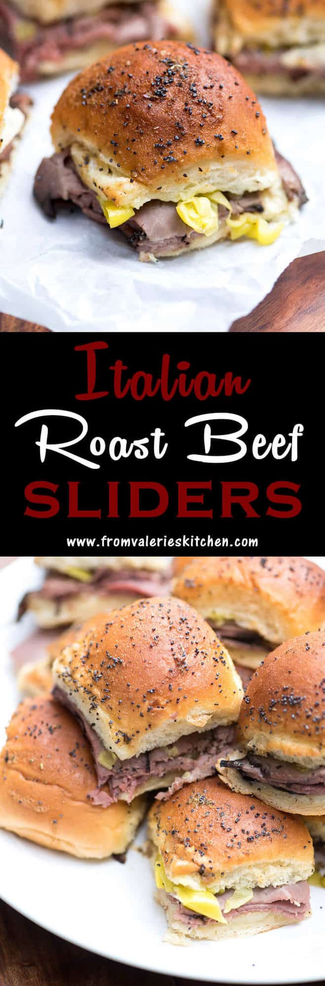 Flossy Small But Se Italian Roast Beef Sliders Involve Take Just Minutes Italian Roast Beef Sliders French Fried Onions Provolone Pepperoncini Roast Beef Sliders Fried Onions Roast Beef Sliders nice food Roast Beef Sliders