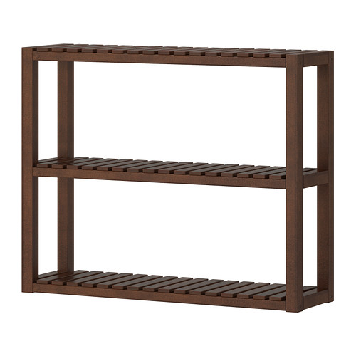 molger-wall-shelf-brown IKEA