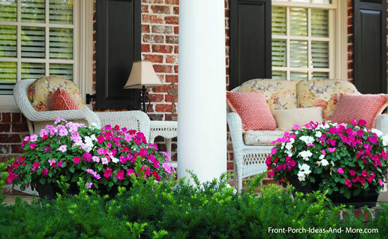 Front Porch Decorating Ideas   Front Porch Ideas porch decorated for summer pleasure