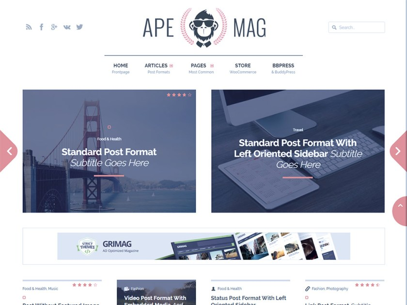 Apemag Affiliate WordPress Theme by Strict Themes