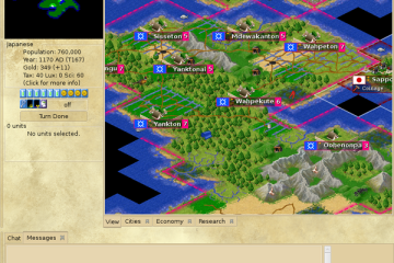 FreeCiv - a free and open-source alternative to Sid Meier's Civilization