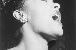 Image credit: Portrait of Billie Holiday in Down Beat magazine/William P. Gottlieb