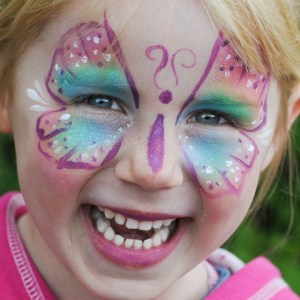 KinderschminkenFrühjahrsmarkt Emsdetten