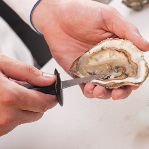 Oyster Shucking - iStock