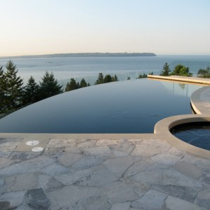 Swimming Pool With Infinity Edge