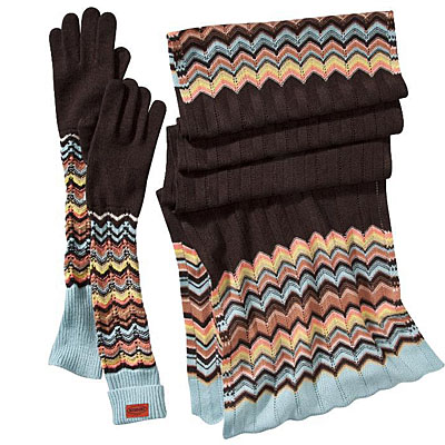 MIssoni Gloves and Scarf