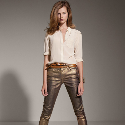 Joe Fresh Gold Jeans FW 2011