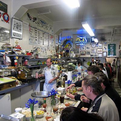 Swan Oyster Depot - bootsintheoven.com