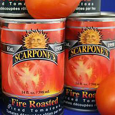 Scarpone Fire Roasted Tomatoes