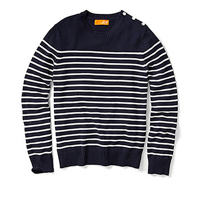 Joe Fresh Marine Sweater -$39