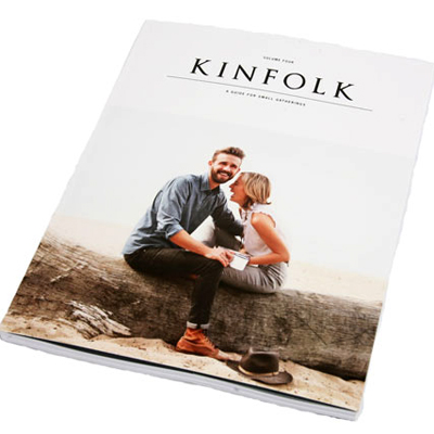 The Current Issue of Kinfolk Magazine