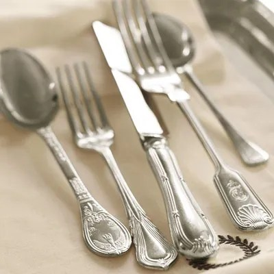 Sheffield Heirloom Silver-Plated Flatware - Pottery Barn
