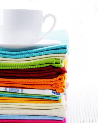 Stack Of Cloth Napkins shutte