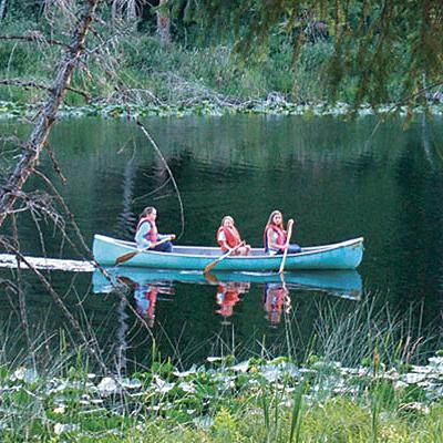 Cusheon Lake Canoeing