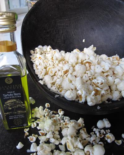Truffle Oil Parmesan Popcorn - C. Rule