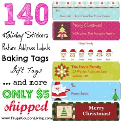 Manly Address Label Vistaprint Holiday 140 Frugal Coupon Living 1024x1024 Vistaprint Cards Code Vistaprint Cards Review