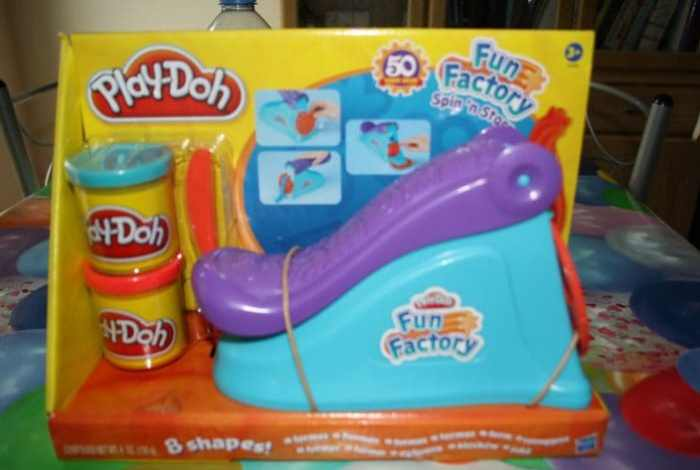 Play Doh Fun….