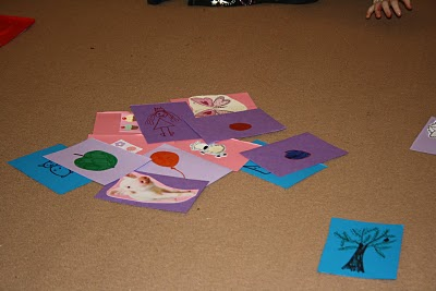 Halloween Story Cards….