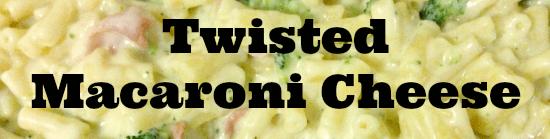 Twisted macaroni cheese