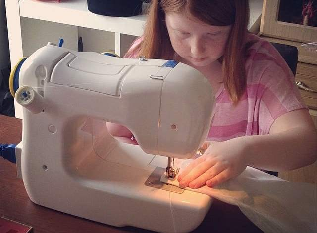 Make do and mend eleven year old style….