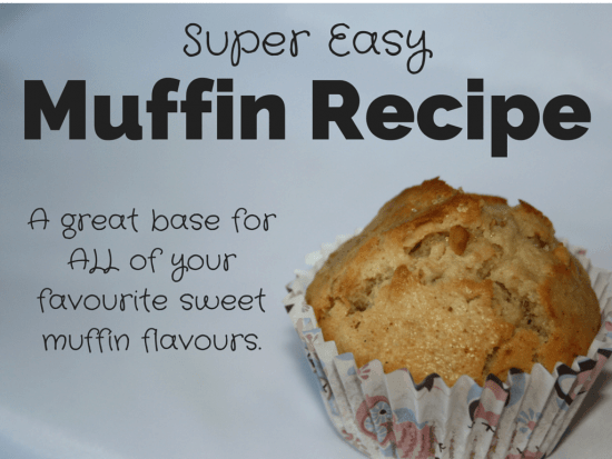 Super easy muffin recipe