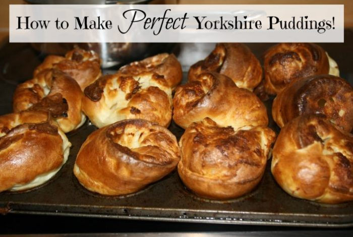 How to make Perfect Yorkshire Puddings….