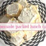 Packed Lunch Cake – it's frugal, filling and delicious….