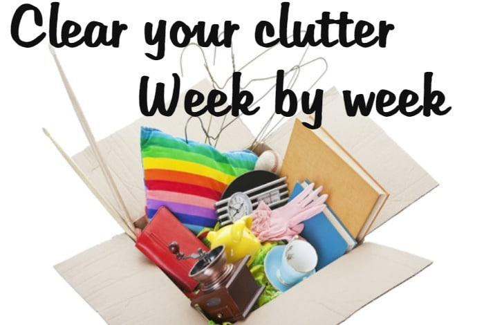 Clear your Clutter – Week 2….