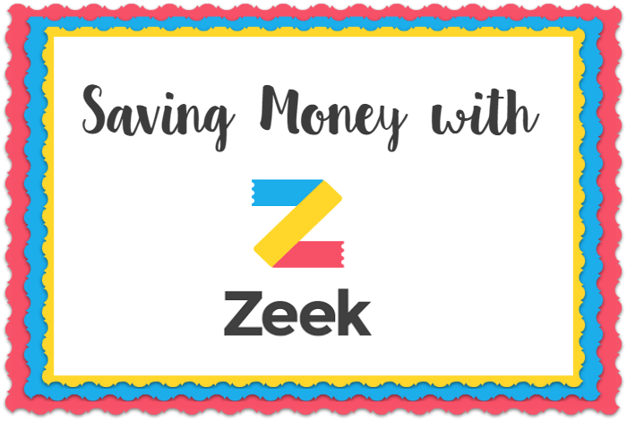 Save money on Gift Vouchers with Zeek (and get £5 off your first one)….