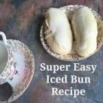 Super easy iced bun recipe….
