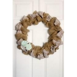 Inspirational Lace Mason Jars Burlap Finish Burlap Lace Wreath Frugal Mom Burlap Lace Shower Curtain