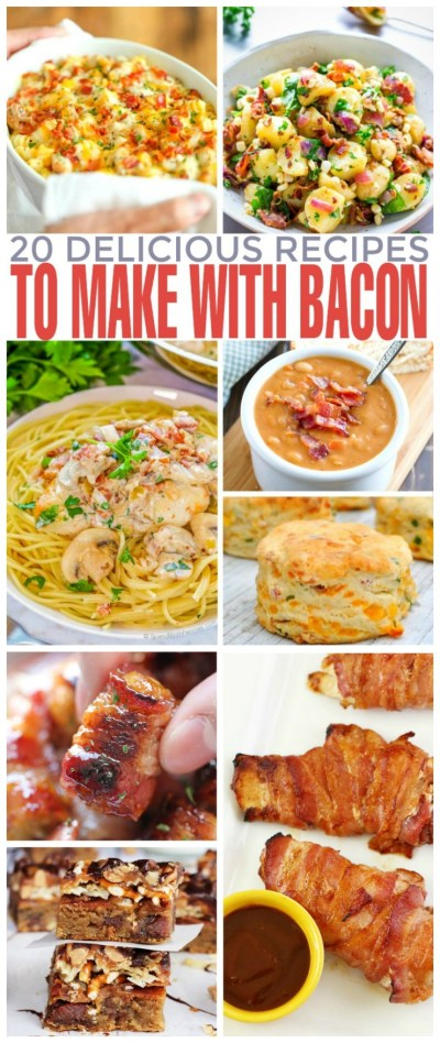 20 Delicious Recipes to Make with Bacon - Frugal Mom Eh!