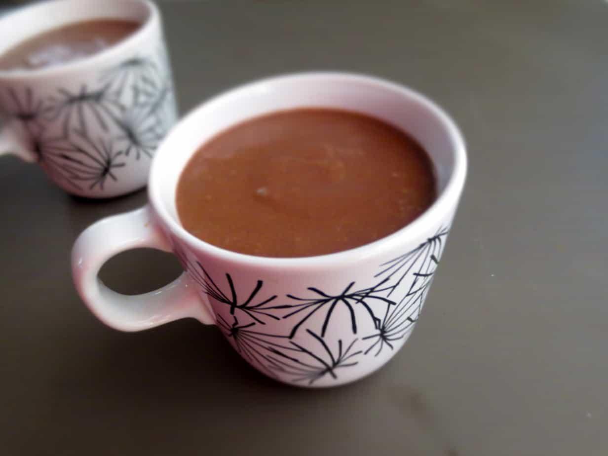 Three-Ingredient Paleo Coconut Dark Chocolate Mousse