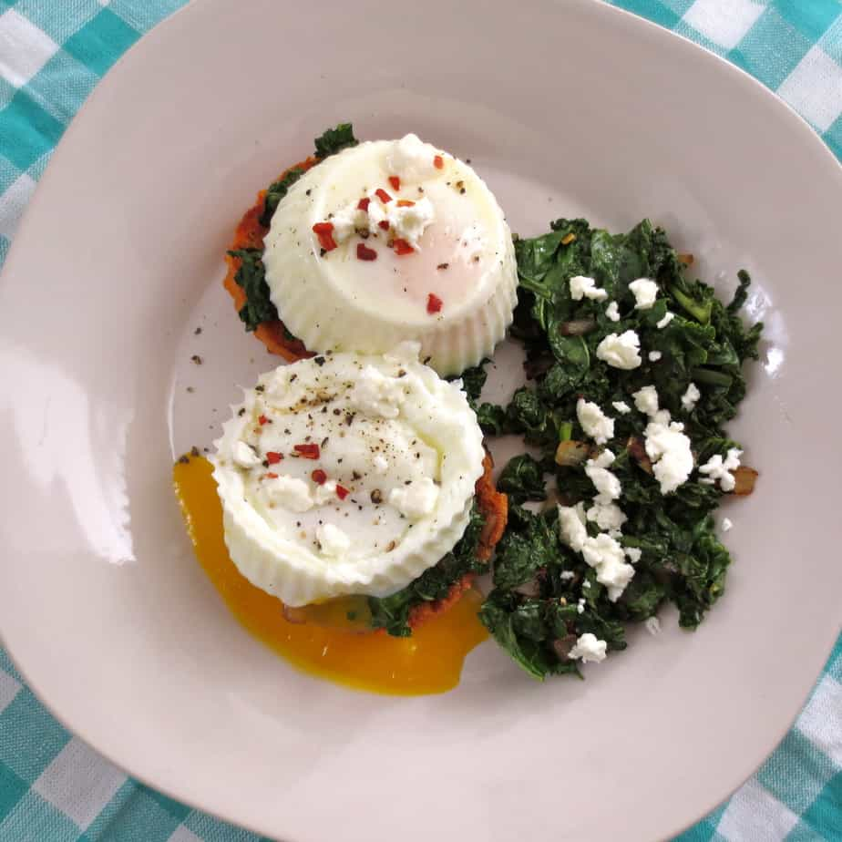 with red pepper flakes and feta cheese eat and enjoy