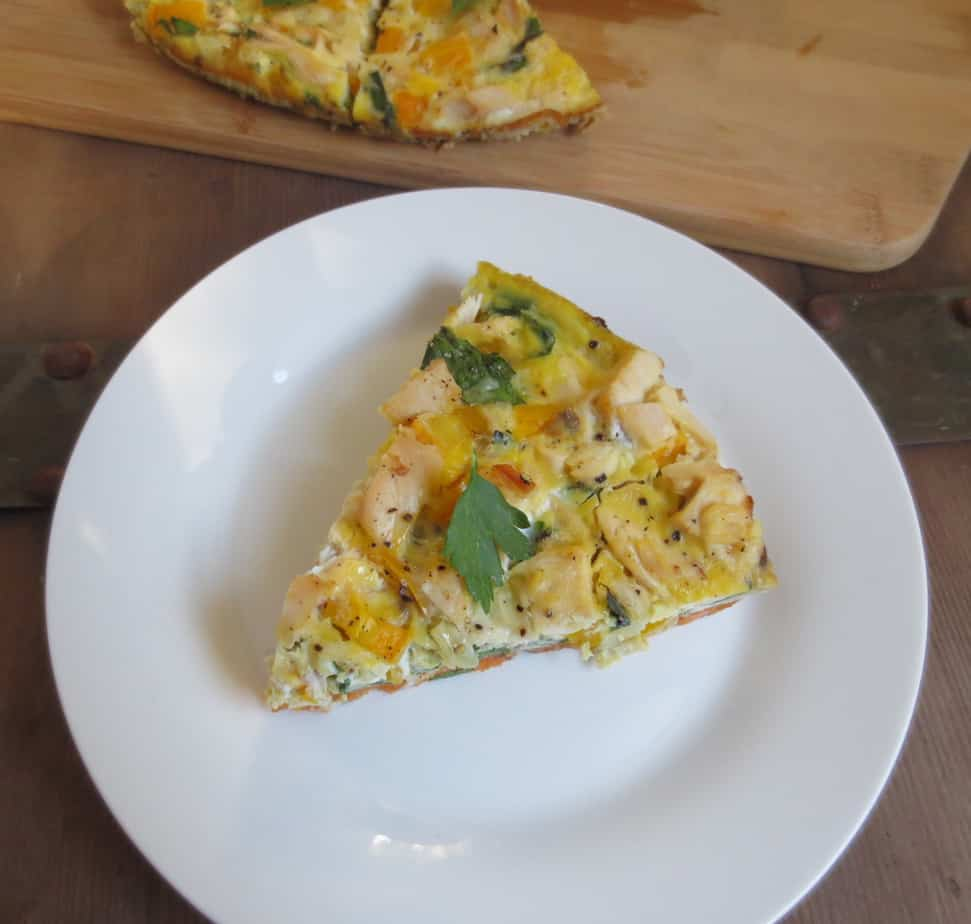 Sweet Potato Chicken and Veggie Breakfast Frittata (Gluten ...