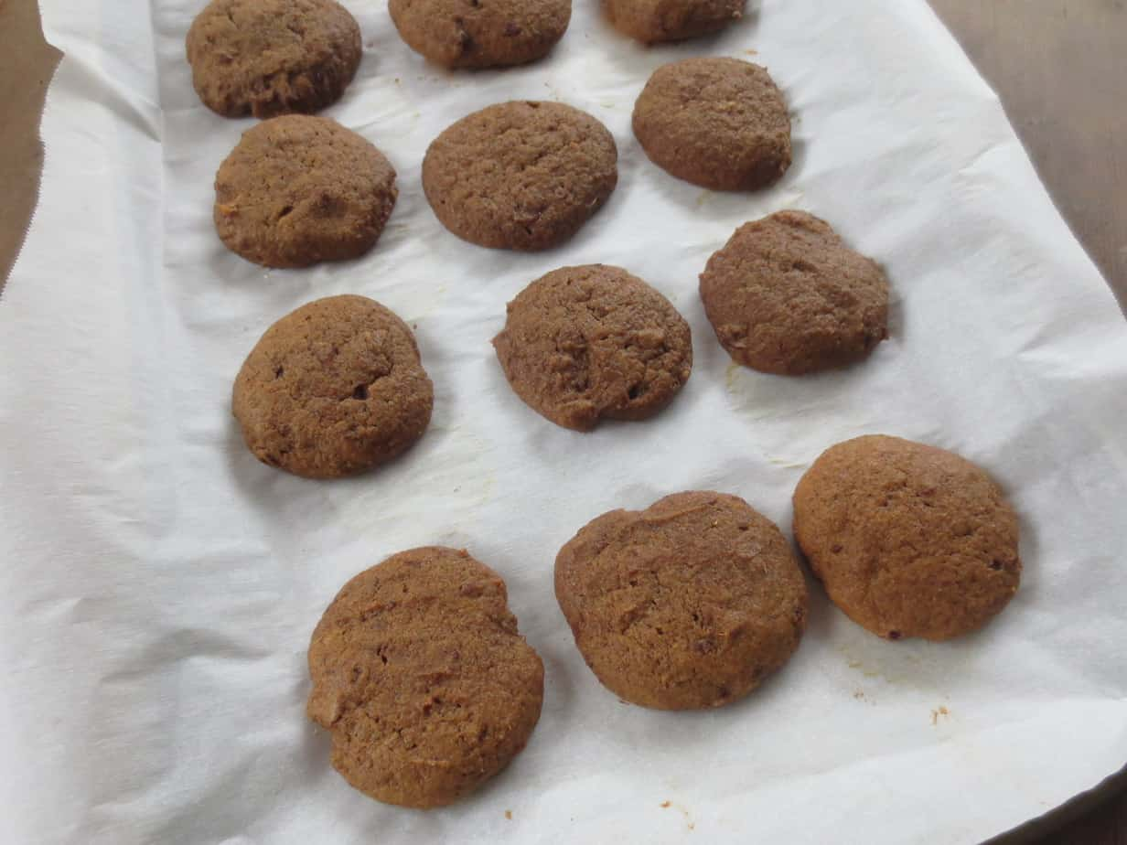 Spiced Molasses Cookies