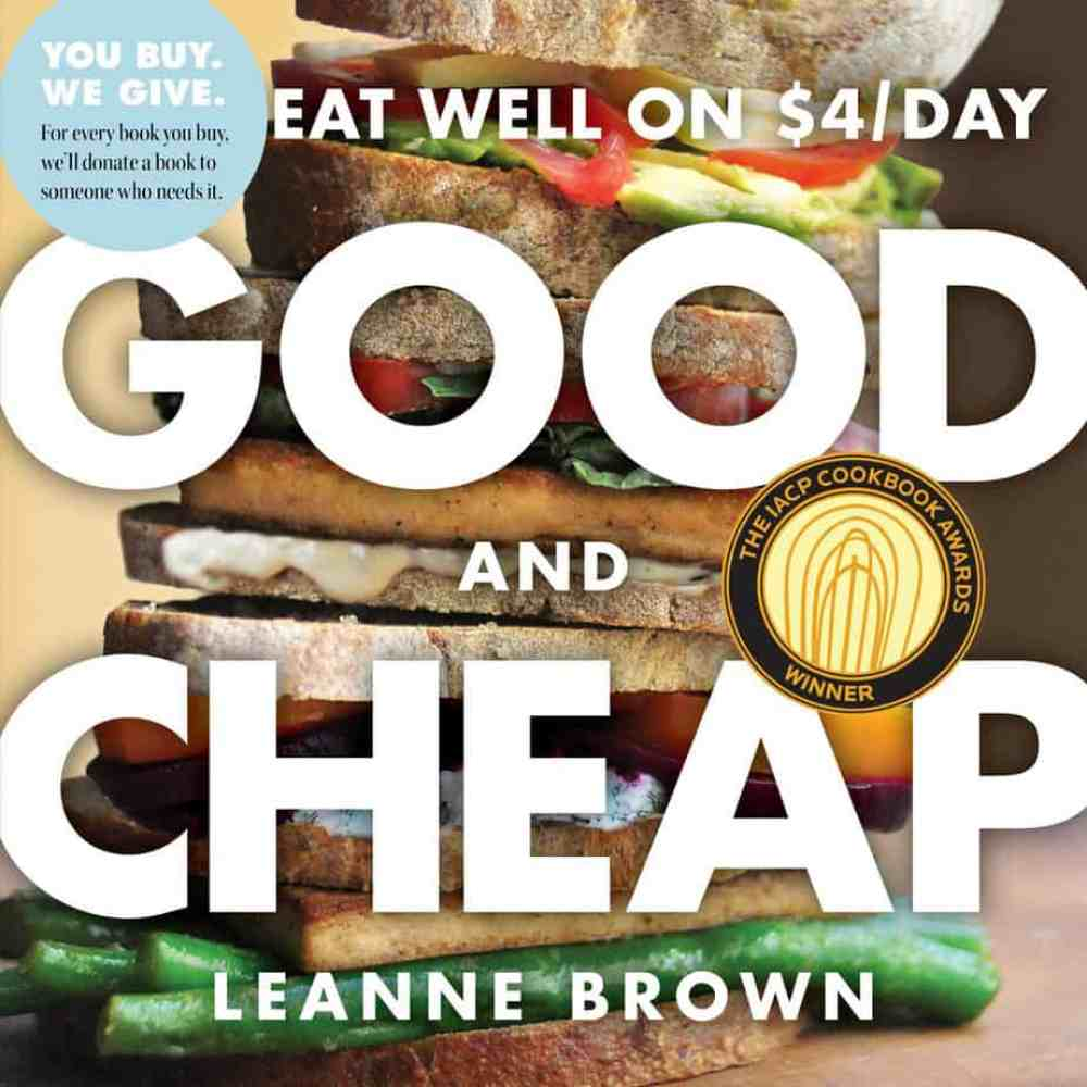 Good and Cheap Cookbook - Eat Well on $4 a Day #budget #realfood