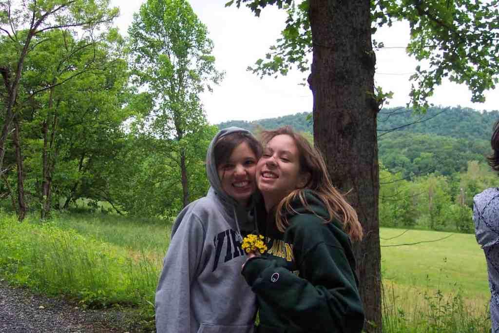 Bridget Bekah Senior Trip