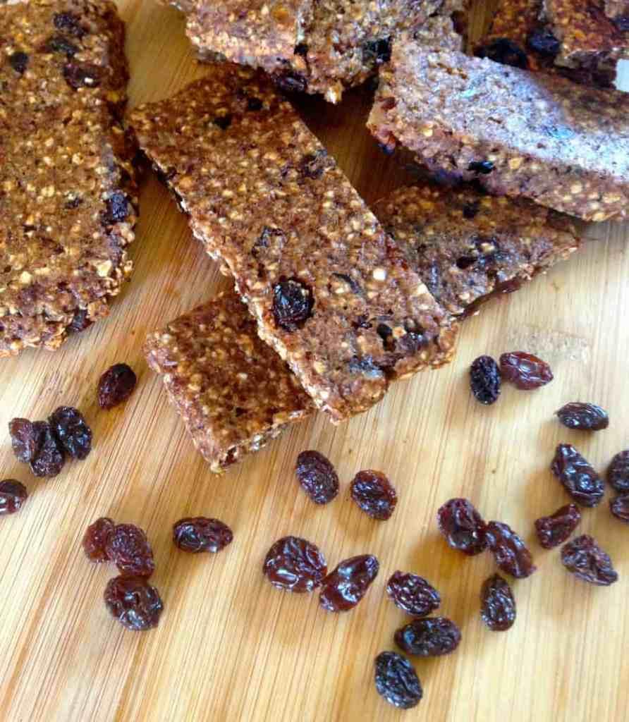 Soft Oatmeal Raisin Bars for 32 cents each! | Frugal Nutrition