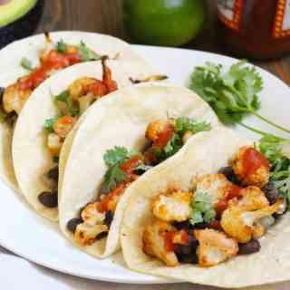 Vegan Cauliflower Tacos   #easyvegan Frugal Nutrition