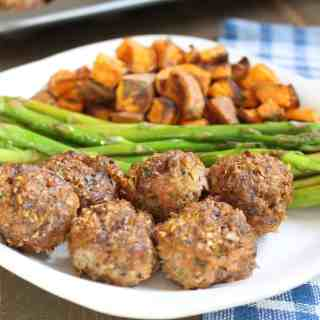 Rosemary Meatloaf Mini Muffins | Frugal Nutrition #dinner
