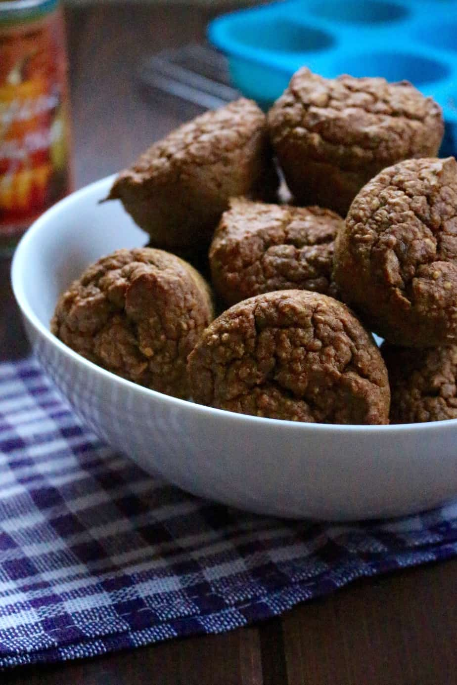 Blender Pumpkin Muffins   Frugal Nutrition