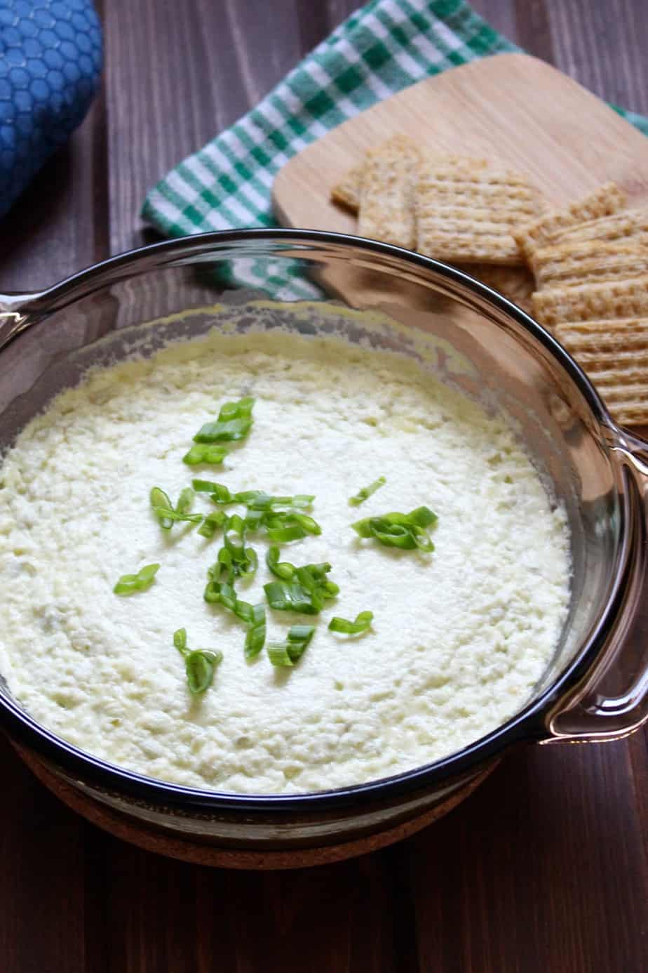 Jalapeño Cream Cheese Dip | Frugal Nutrition