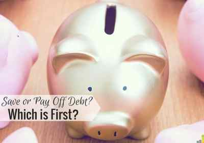 Why I'm Saving More and Paying Off Less Debt This Year - Frugal Rules