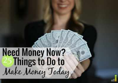 I Need Money Now: 25 Legit Ways to Get Money Today - Frugal Rules